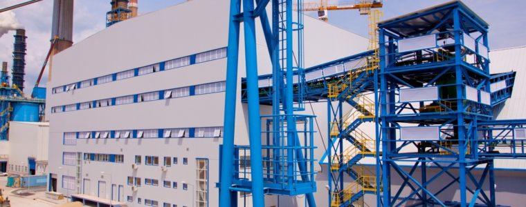 Система за обезводняване на гипс в ТЕЦ Марица изток 2